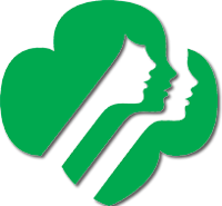 The Girl Scouts logo.